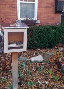 Little Free Library, Kingston, Colborne Street