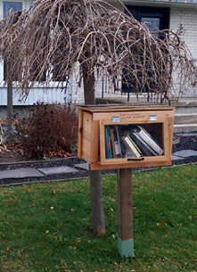 Little Free Library, Kingston, Norman Rogers Drive