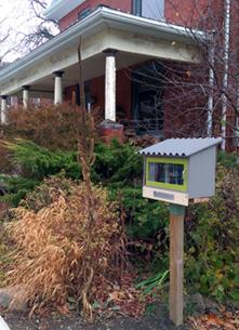 Little Free Library, Kingston, Alwington Street