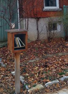 Little Free Library, Kingston, Markland Street