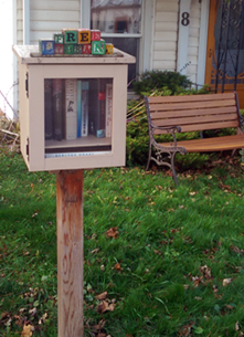 Little Free Library, Kingston, Redan Street