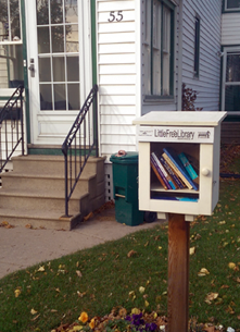 Little Free Library, Kingston, Thomas Street