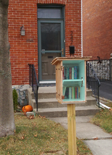 Little Free Library, Kingston, Rideau Street