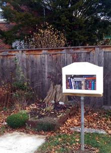 Little Free Library, Kingston, Helen Street