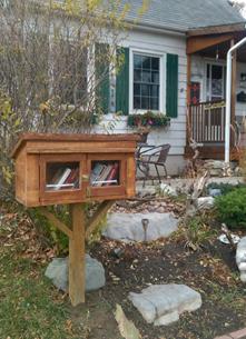 Little Free Library, Kingston, Alamein Street