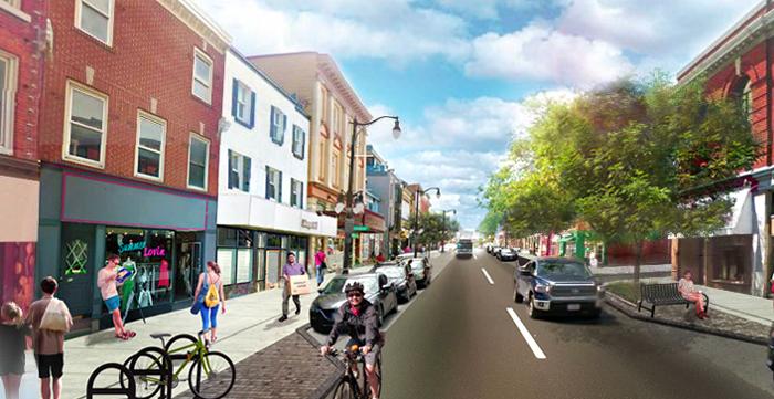 big dig, phase three, Princess Street, downtown Kingston