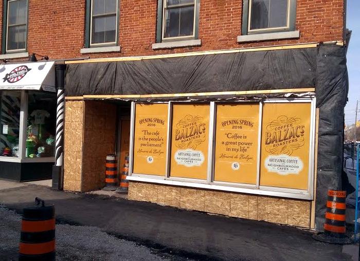 Balzacs, coffee, Kingston, Ontario