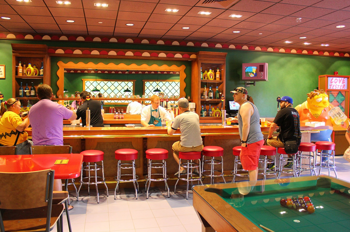 film and TV-themed bars and restaurants