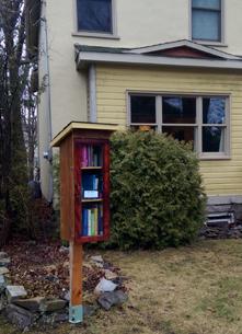 Little Free Library, Kingston, Churchill Street