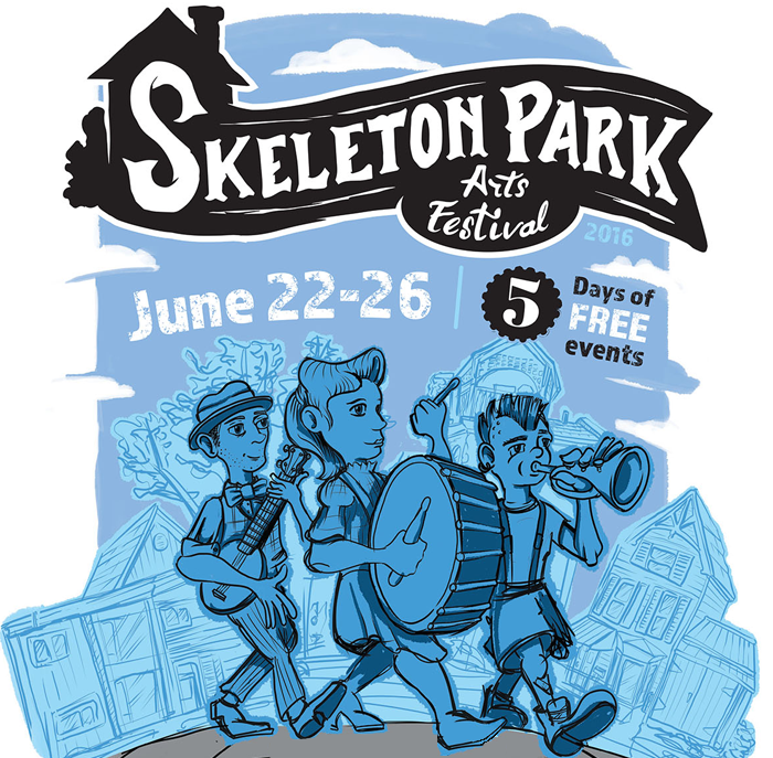 2016 Skeleton Park Arts Festival, Kingston