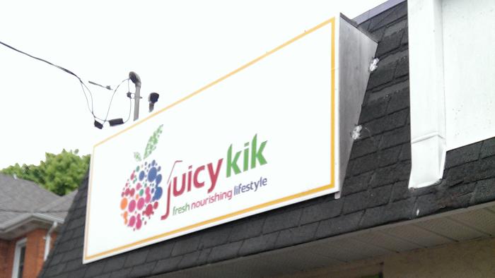 Juicy Kik, Kingston, Ontario