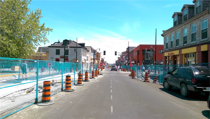 Big Dig, Phase 3, downtown, construction, Kingston, Ontario