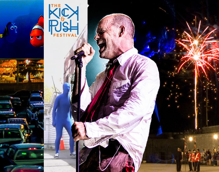 Drive-In, Kingston Family Fun World, Kick & Push Festival, Tragically Hip, Limestone City Blues Festival, Fort Henry, Sunset Ceremony, kingston, ontario