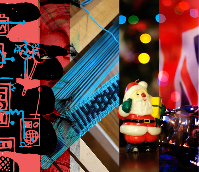 November events, Tone Deaf, Nighttime Santa Claus Parade, Handloom Weavers and Spinners, Meistersingers, Kingston Symphony and Kingston, Ontario