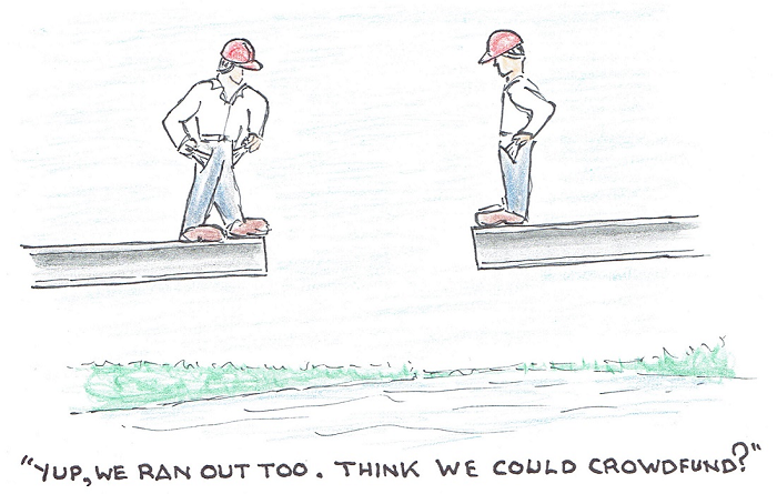 third crossing, cartoon, Kingston, Ontario