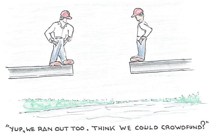third crossing, cartoon, Kingston, Ontario