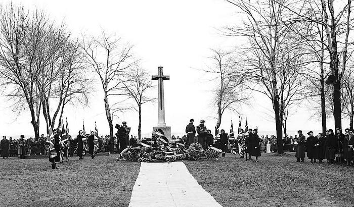 , Remembrance Day, Cross of Sacrifice, Kingston, Ontario