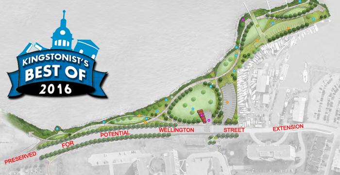 Wellington Street Extension, Wellington X, Douglas Fluhrer park
