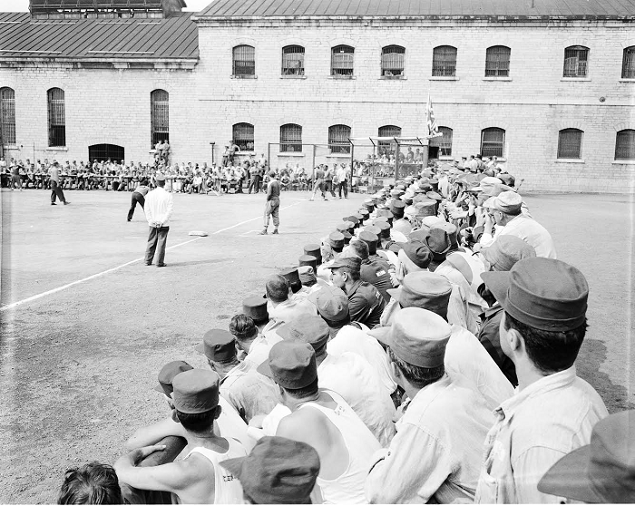 Baseball at Kingston Penitentiary, 1950