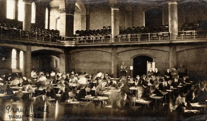 Exams, Grant Hall, Queen's University, Kingston, Ontario