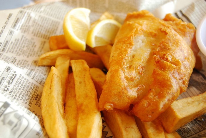 best fish and chips, Kingston, Ontario