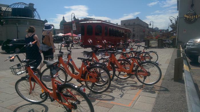 Dropbike, bike sharing, Kingston, Ontario