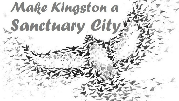 ygkchallenge, Sanctuary City, Access Without Fear, Kingston, Ontario