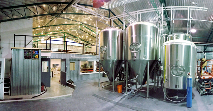 Prince Eddy's Brewing Company, brewery, Prince Edward County, PEC, Ontario
