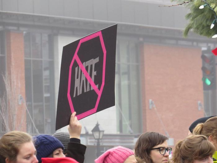 ygkchallenge, fight hatred and bigotry, anti-fascist parade, Kingston, Ontario