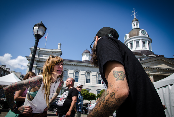 Ashley Silversides, Limestone City Tattoo and Arts Festival, Kingston, Ontario