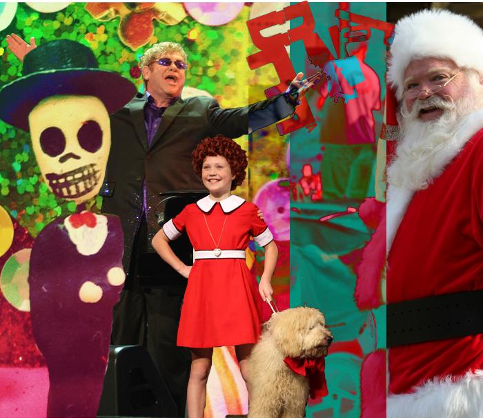 Día de los Muertos, Elton John, Annie, Tone Deaf, Santa Clause Parade, Kingston, Ontario
