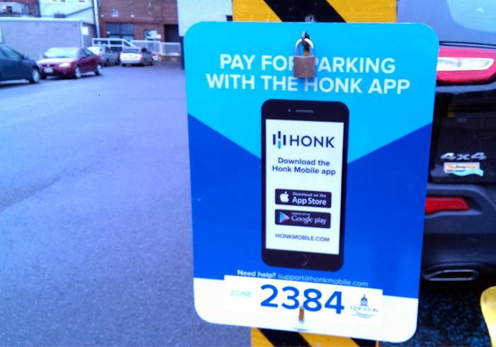 Find Parking in Kingston, Honk App
