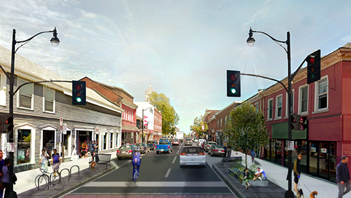 big dig, phase 4, Princess Street, Kingston, Ontario