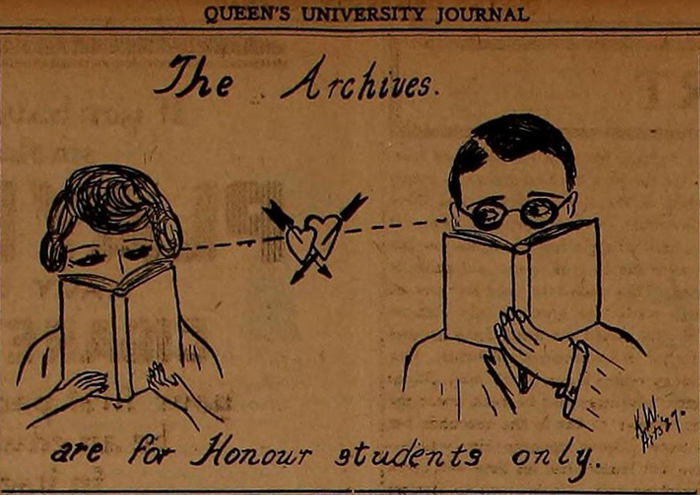 Kathleen Ryan, Queen's Journal, Kingston, Ontario