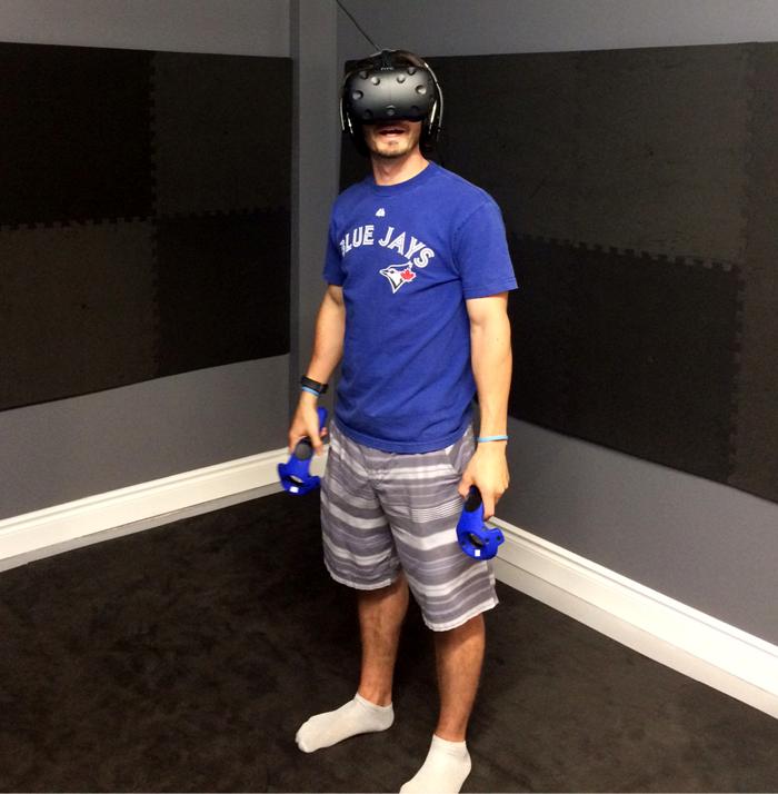 virtual reality, vr hut, htv vive, Kingston, Ontario