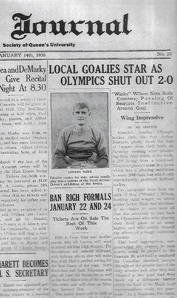 hockey, history, Kingston, Ontario