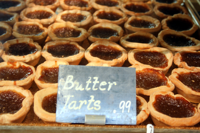 best butter tarts in kingston, Ontario