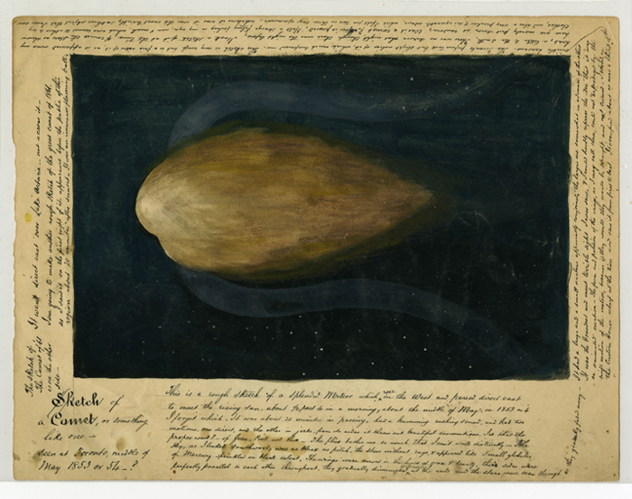 Angus MacLeod, Sketch of a Comet