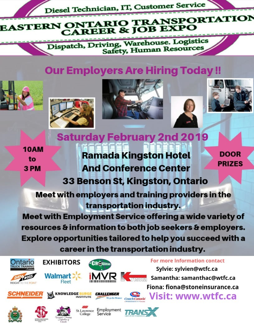Eastern Ontario Transportation Career and Job Expo