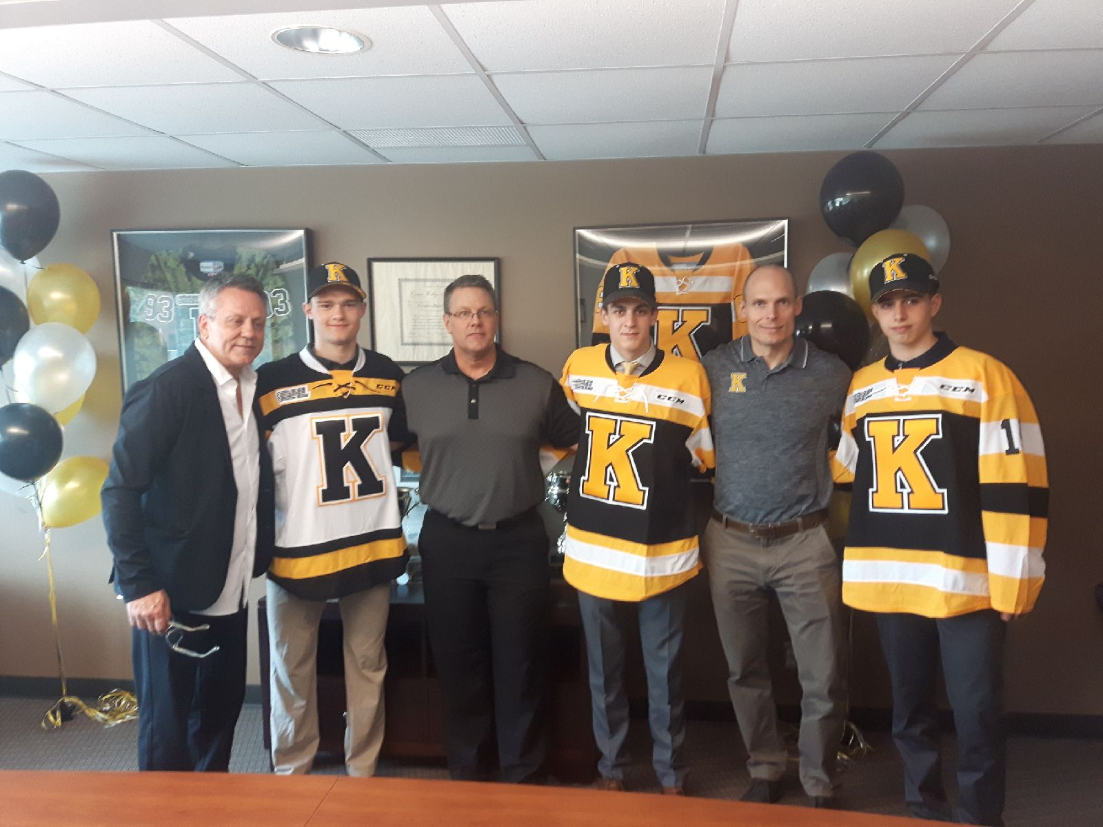 Frontenacs sign their top three picks
