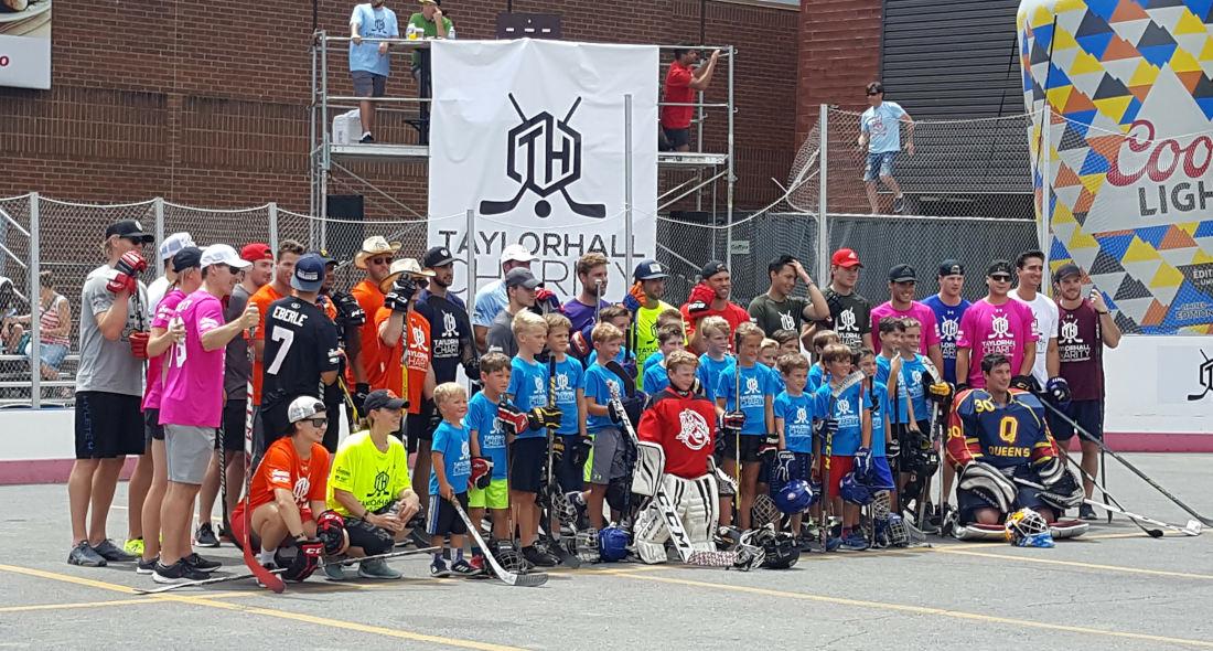Taylor Hall Charity Ball Hockey Tournament Set To Take Over The Hub