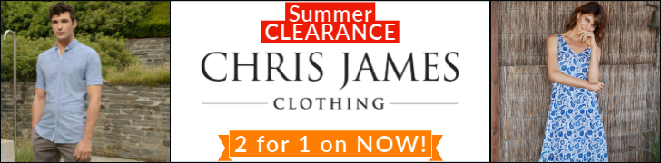 Chris James Summer Clearance Sale