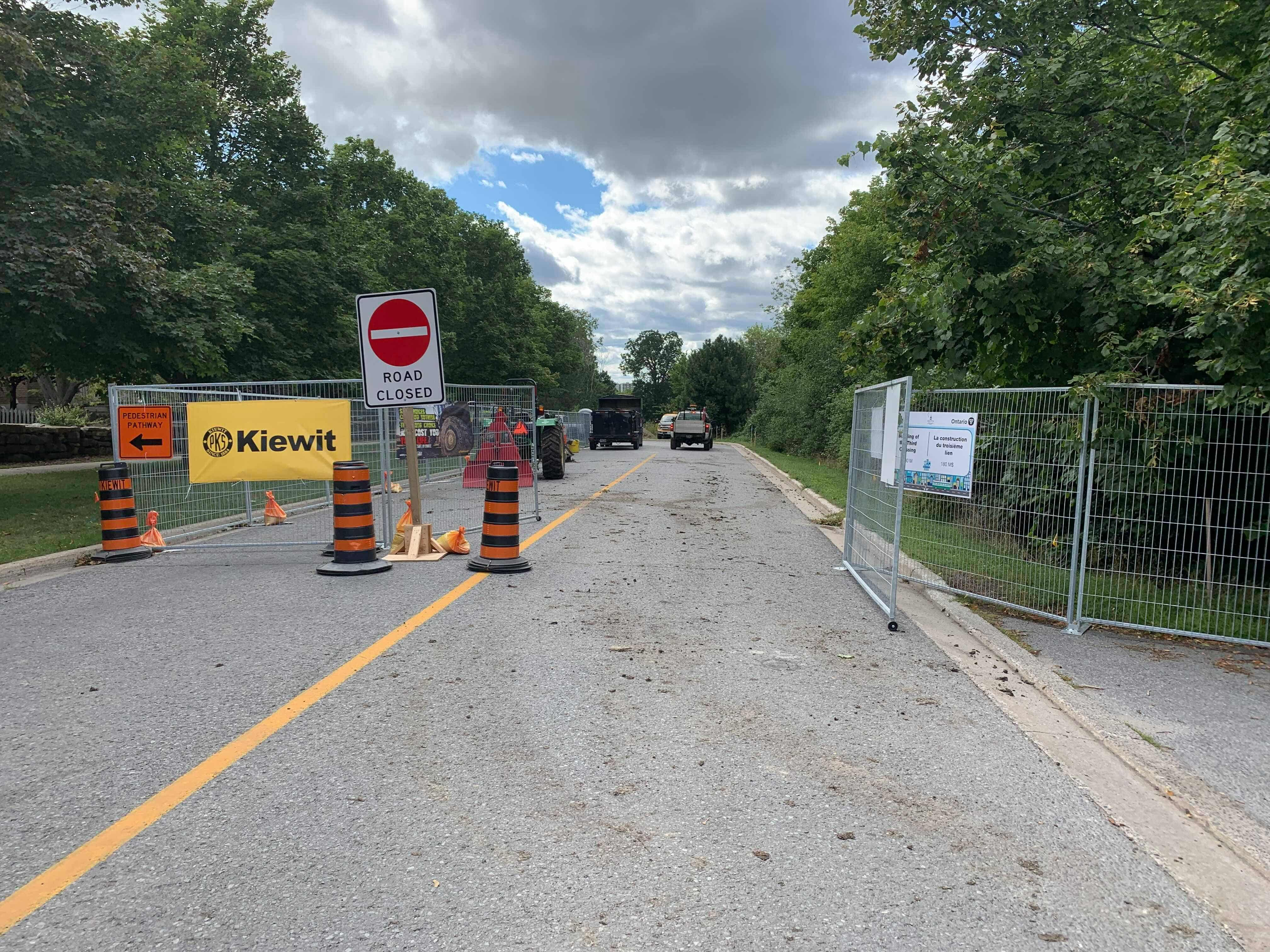Kingston road closures and traffic delays, Sept 9-14 2019