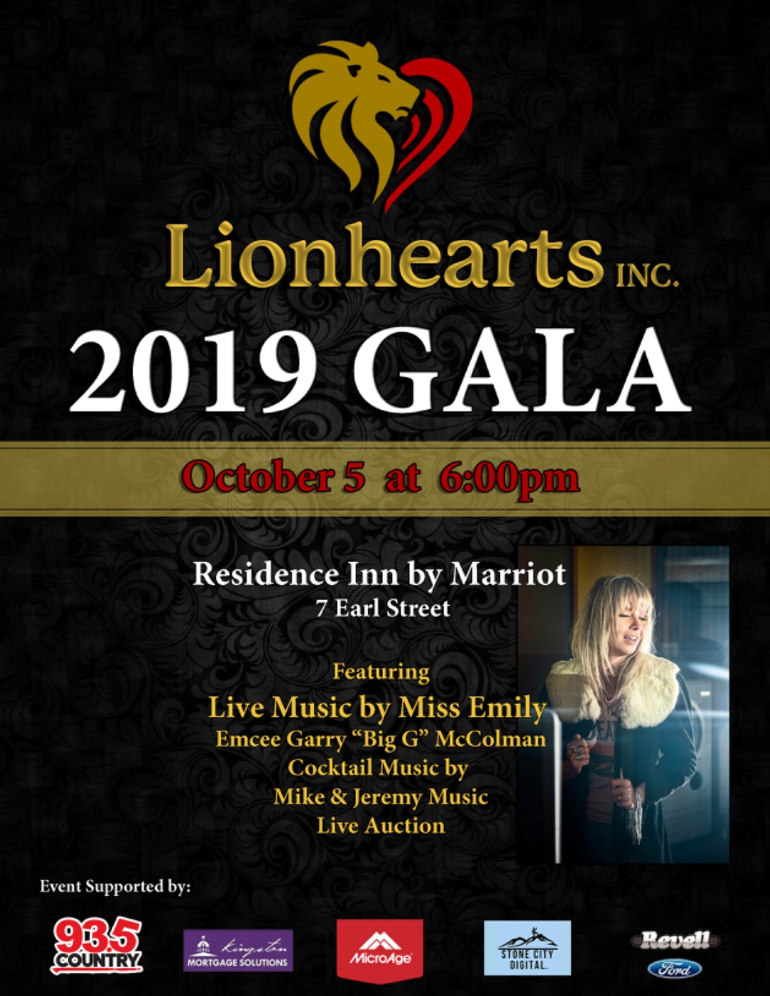 Gala to support Lionhearts Inc charity