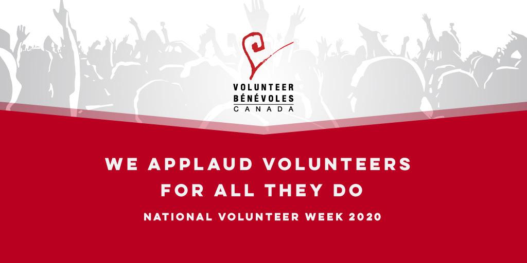 National Volunteer Week graphic