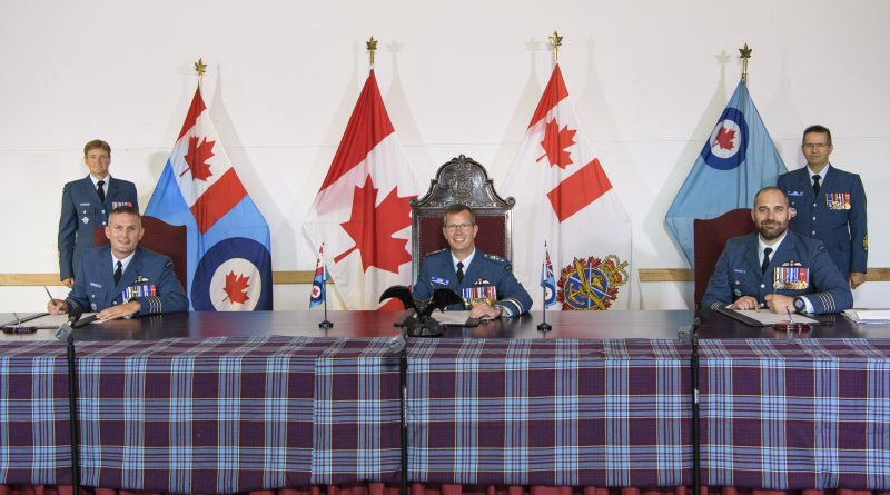 Change of command for Canada's Tactical Helicopter Wing