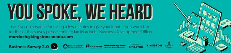 Kingston Economic Development business survey