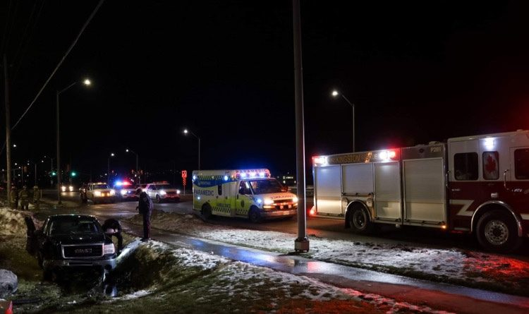 Woman arrested for impaired driving after multiple collisions