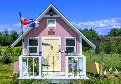 New whimsical royal residence constructed in Napanee